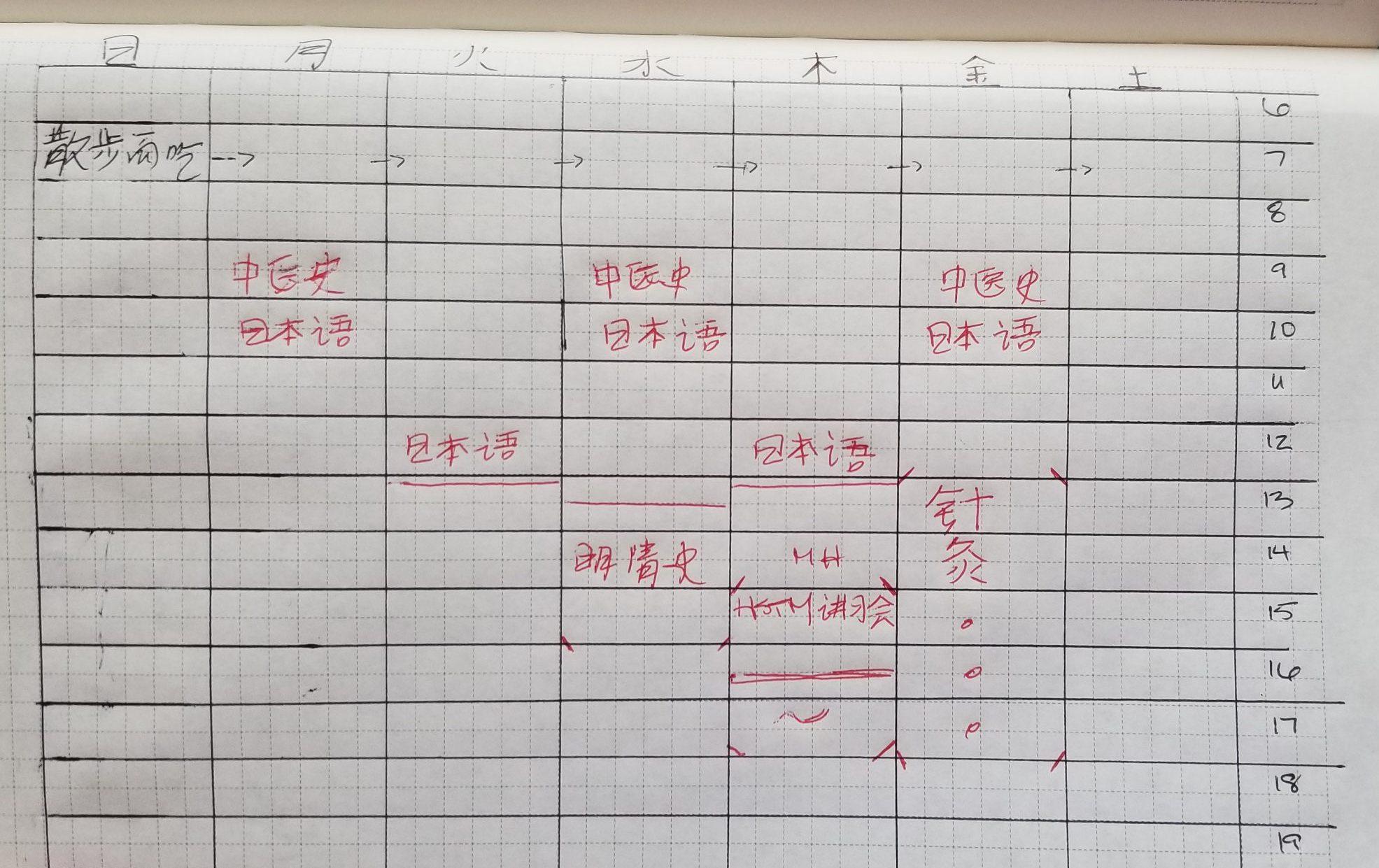 Schedule Step 1